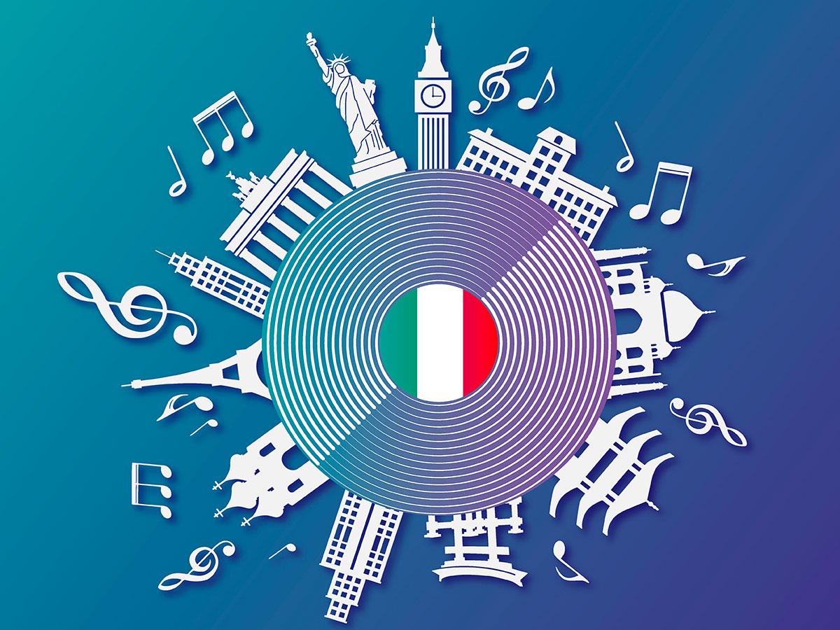 musica italiana nel mondo