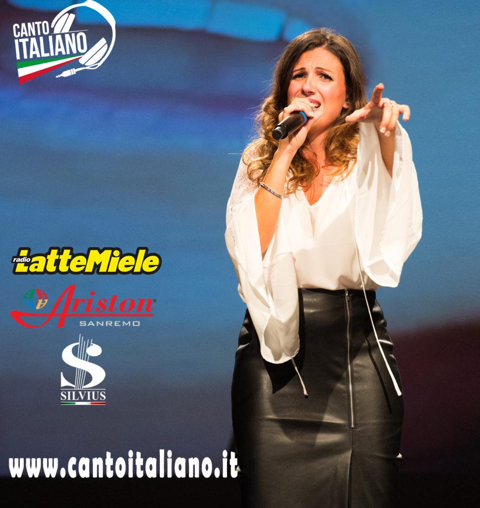 Cristina Valenti, finale 5a edizione CantoITALIANO