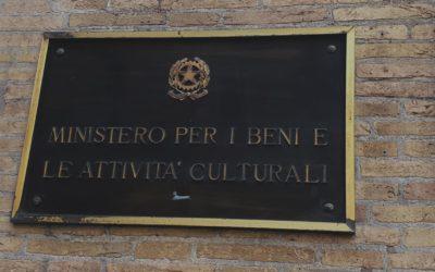 IL MIBAC CONFERMA IL PATROCINIO A CantoITALIANO 2019